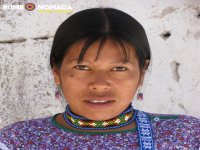 Yolanda craftswoman Wixarika