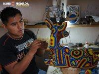 Angel craftsman Wixarika