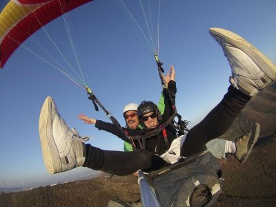 Paraglider flight Chipilo photos and video 20 Min