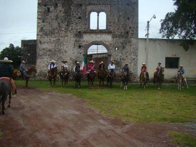 Private ride through Tlaxcala farms 3h