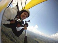 Un recuerdo de un vuelo en parapente sobre Valle de Bravo