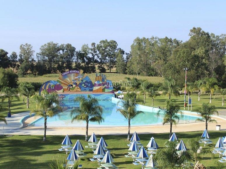 Water park in Jalisco