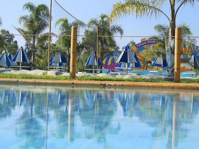 Water Park, Paintball and Archery adults Ayotlán