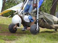 Técnica de despegue para volar en parapente
