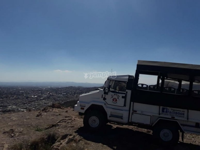 All-terrain vehicle in Zacatecas