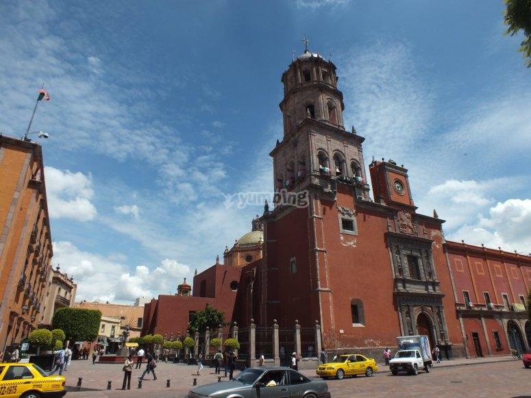 Turismo por las calles de Querétaro