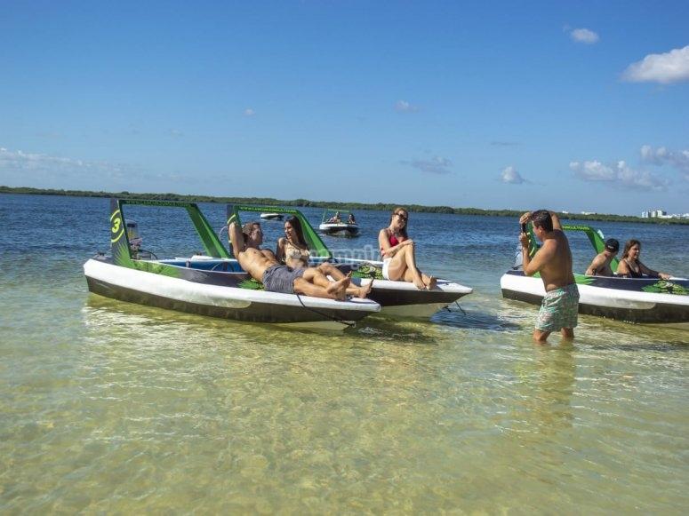 Jungle tour en Cancún