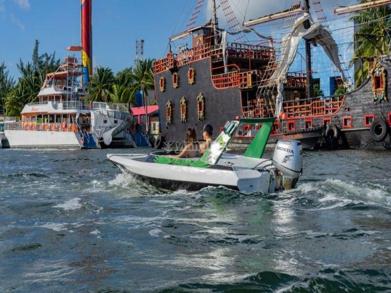 Jungle tour con paseo en bote rápido