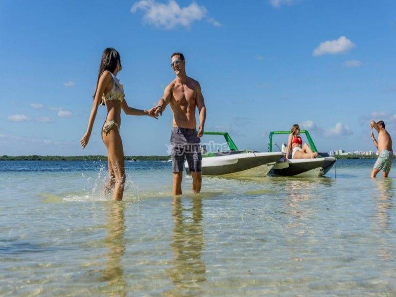 Vacaciones con amigos en cancún