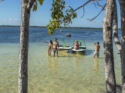 High speedboat ride in Nichupté 1h 30 min