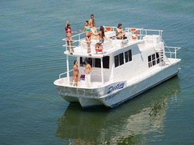 Catamaran to Isla Mujeres and speedboat Nichupté