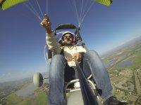 Fly in paramotor in Guanajuato