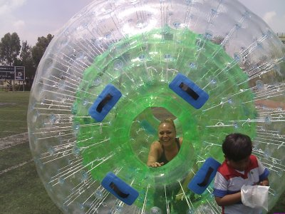 Zorb Ball rental in Mexico City 5 Hours