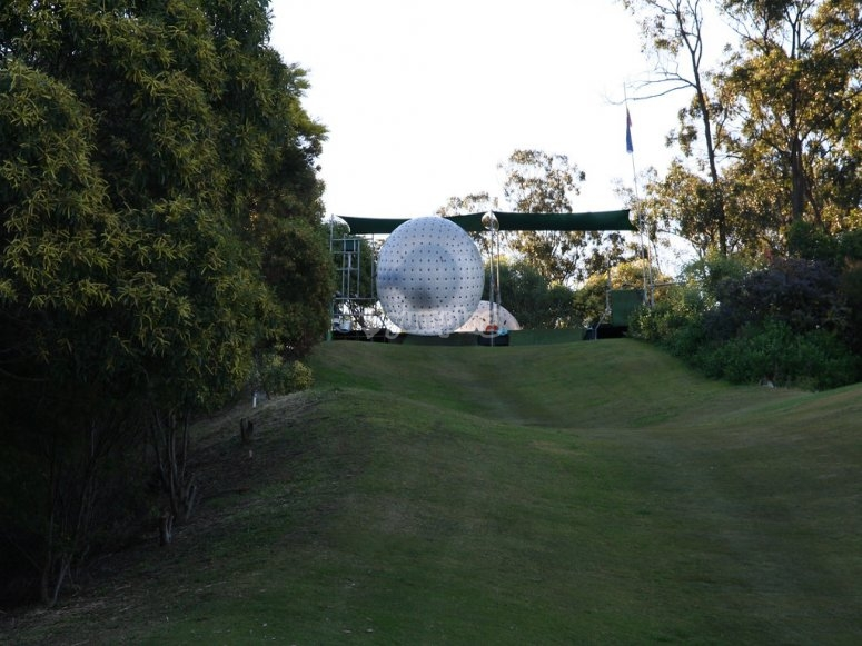 Zorbing sphere