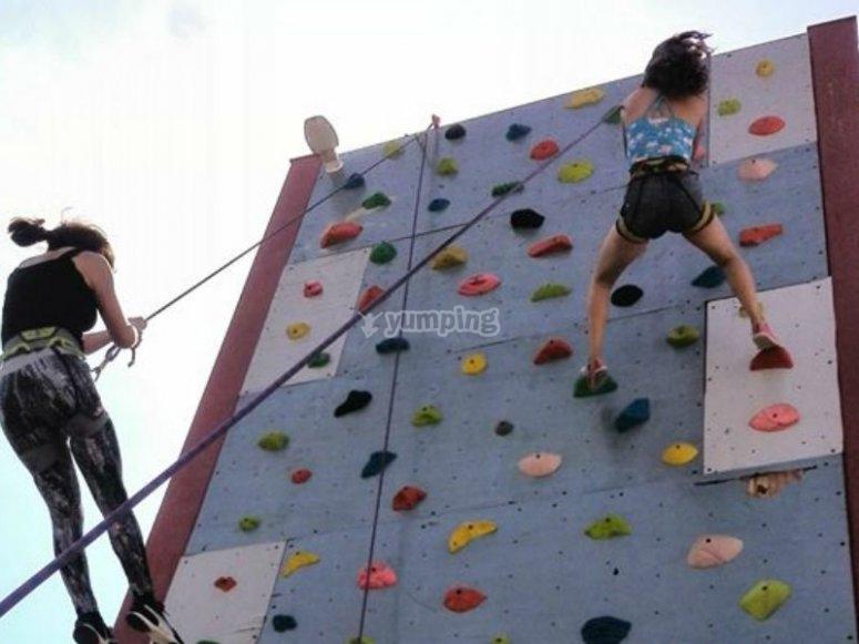 Enjoy climbing