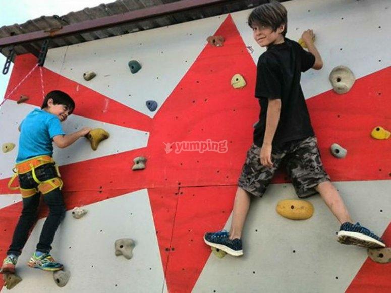Have fun climbing in Puebla