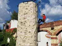 Wall to climb in Puebla