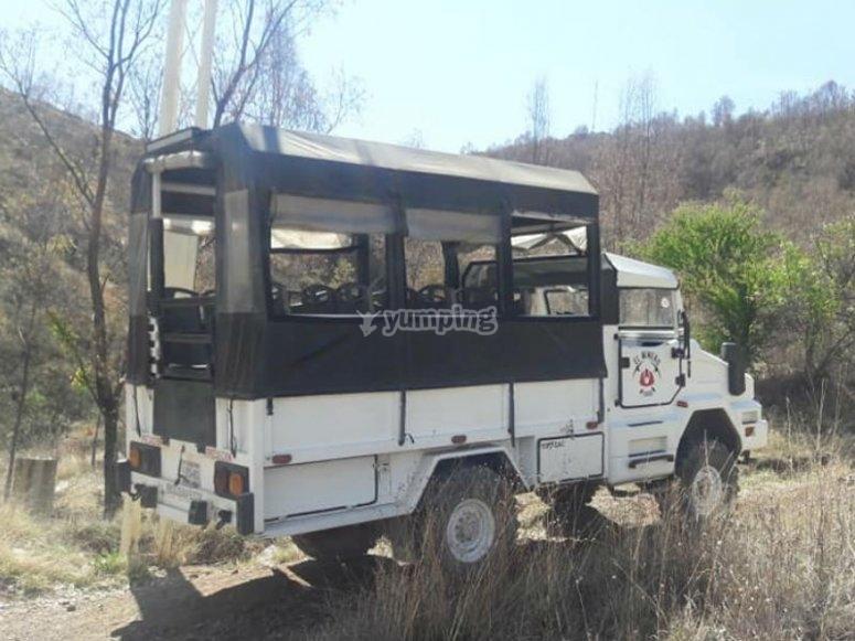 Visita a mina en Zacatecas