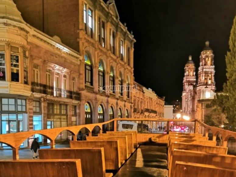 Zacatecas de noche