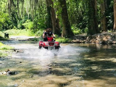 Extreme four-wheeler tour in Santiago 6 hr