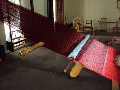 Visita a Fábrica de Rebozos en Santa María del Río