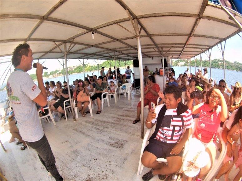 Music and animators in Manzanillo