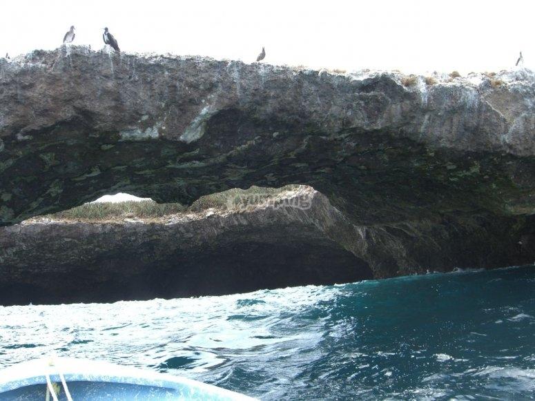 Puente de Piedras en Islas Marietas