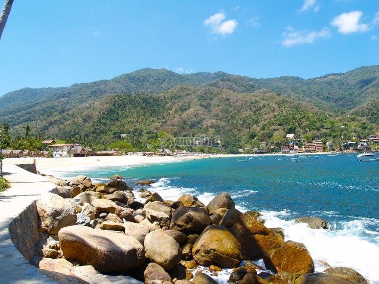 Playa en Yelapa