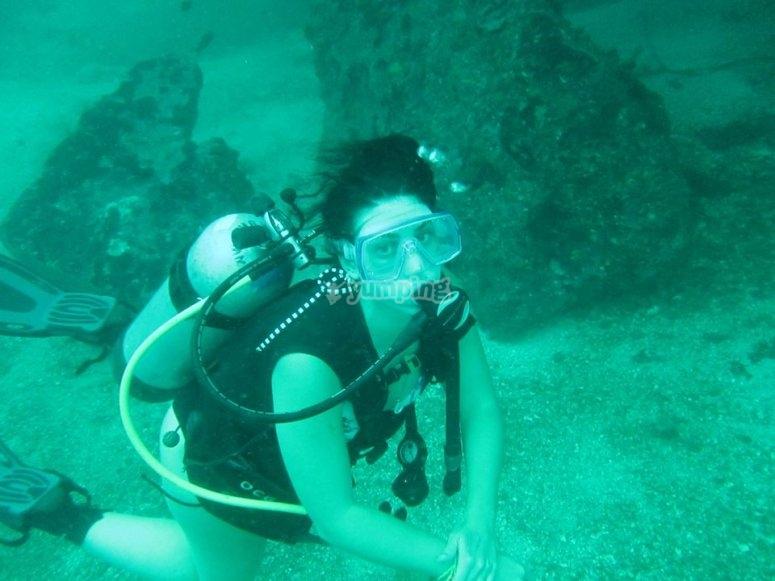Inmersión de buceo en Sayulita