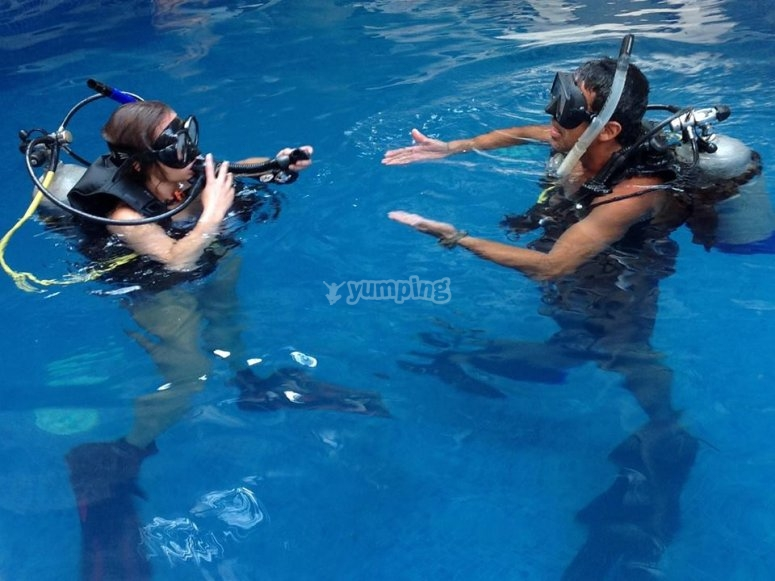 Curso de open water diver