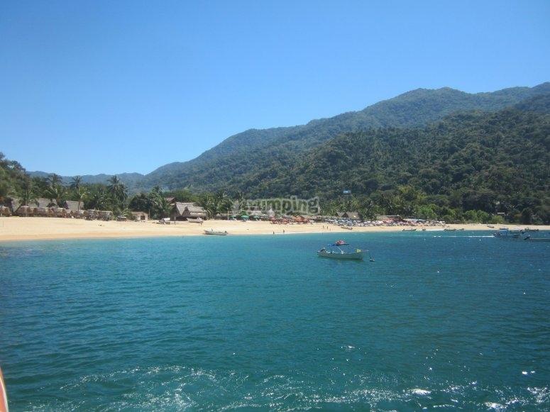Vistas paradisíacas de Bahía Banderas