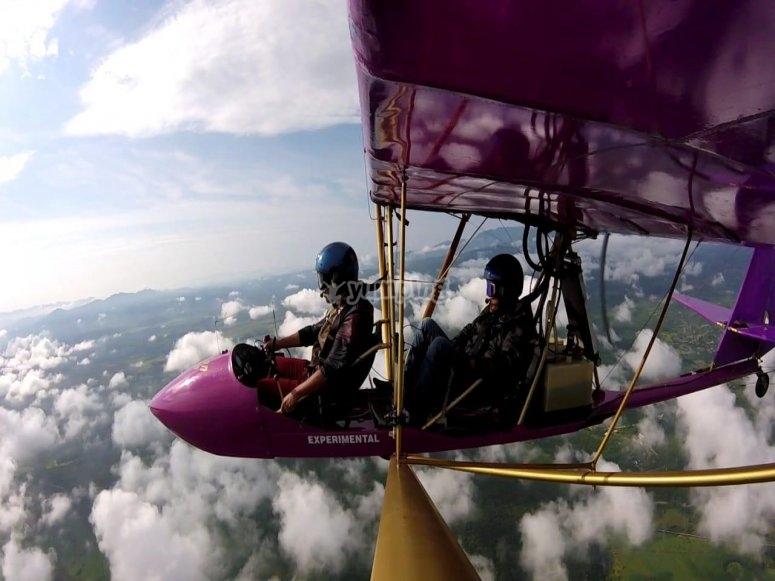 Flying in Morelos