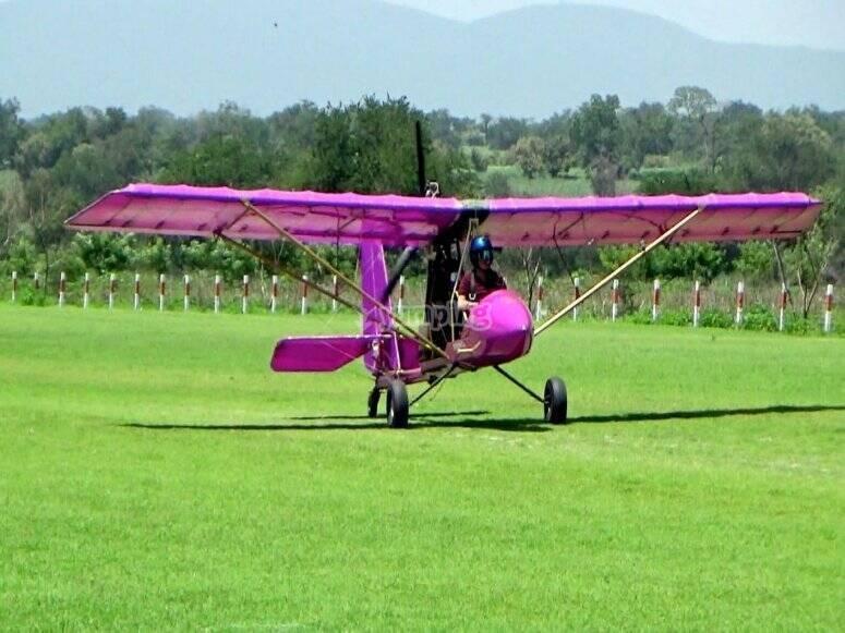 Flying in ultralight in Cuernavaca