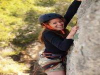Climbing vertical walls