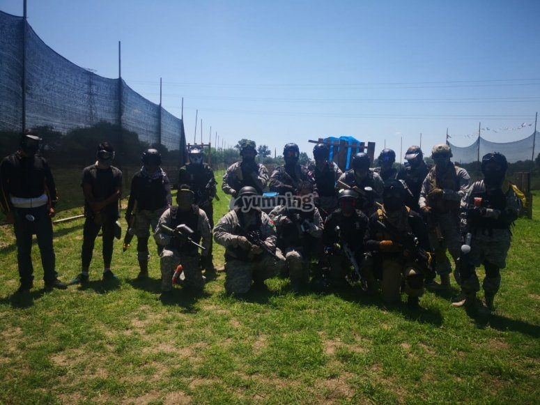 Gotcha team in Aguascalientes