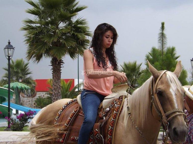 Horseback riding at Querétaro