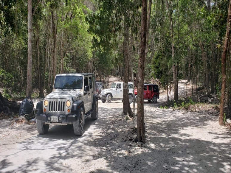 Recorrido en Jeep 4x4