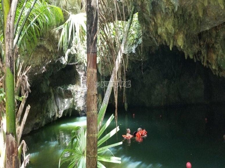 Cuevas en Cozumel