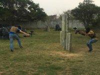 Adrenalina al máximo en el campo de batalla
