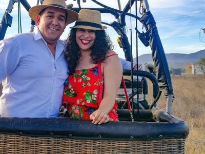 Balloon flight in Valle de Guadalupe VIP