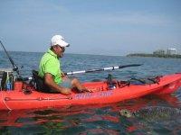 Disfrutando de las vistas en kayak