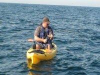 Pesca sobre kayak