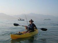 Gozando del kayak