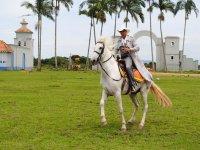 horseback riding on the ranch