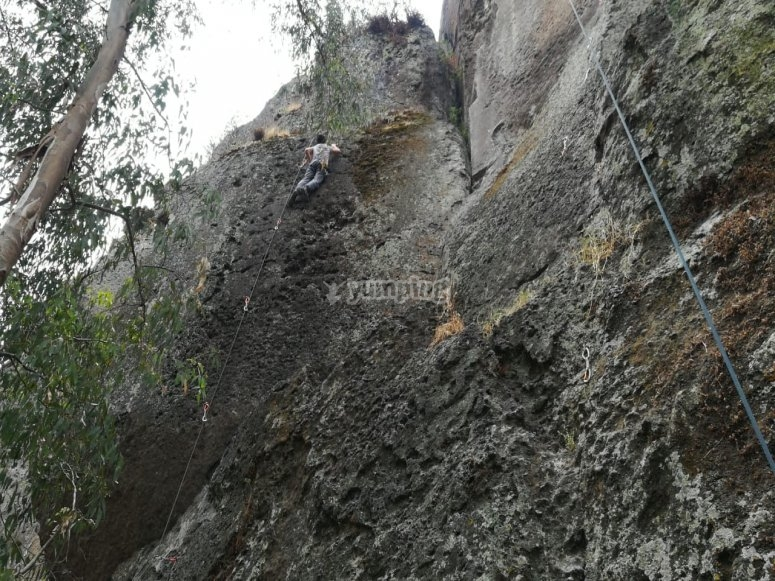 Climbing in the State of Mexico