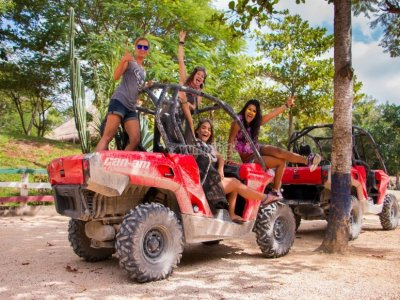 Jungle buggy tour with cenote in Riviera Maya