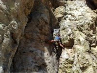 Climbing rock walls