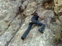 Climbing in Durango