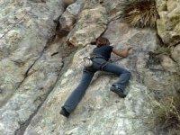 Escalando en Durango