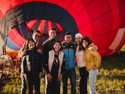 Paseo en globo en Cantona y hospedaje en hacienda